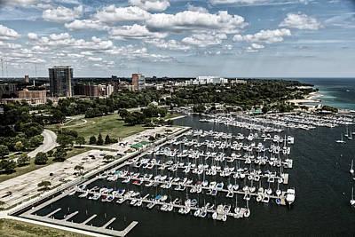 Photograph - Milwaukee Marina by L O C