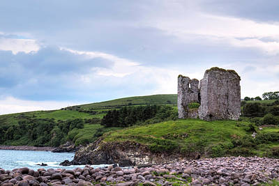 Minard Castle - Ireland Art Print by Joana Kruse
