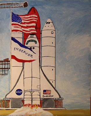 Painting - 2 Minutes To Liftoff by Bill Hubbard