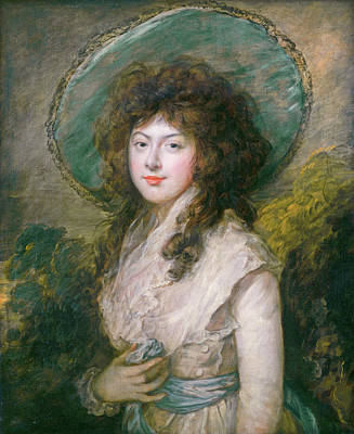 Outdoor Still Life Painting - Miss Catherine Tatton by Thomas Gainsborough