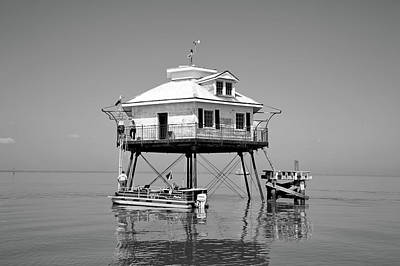 Photograph - Mobile Bay Lighthouse by L O C