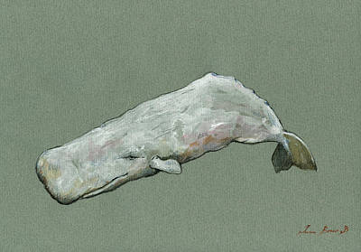 Moby Dick The White Sperm Whale  Original