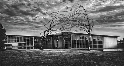 Photograph - Modern Art Museum Of Fort Worth by L O C