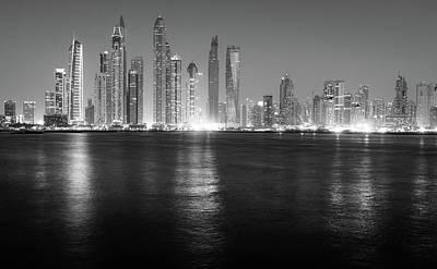 Photograph - Modern City Skyline by Alexey Stiop
