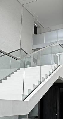 Modern Stairs Art Print by Tom Gowanlock
