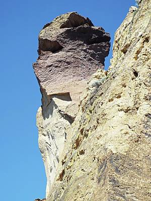 Digital Art - Monkey Face Rock - Smith Rock National Park by Joseph Hendrix