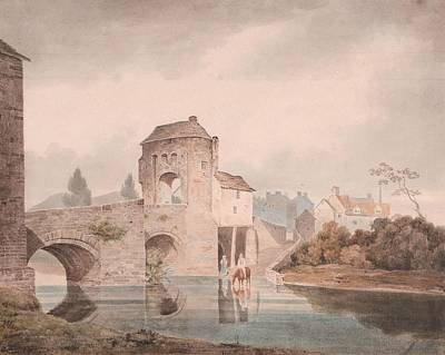 Katharine Hepburn - Monnow Bridge by Thomas Tudor