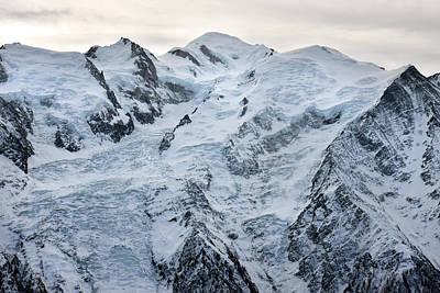 Photograph - Mont Blanc Chamonix France by Pierre Leclerc Photography