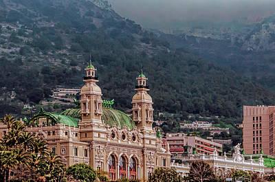 Photograph - Monte Carlo Casino by Maria Coulson