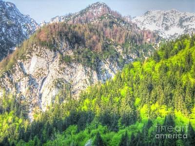 Pyrography - Montenegro by Yury Bashkin