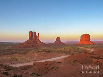 Photograph - Monument Valley by Benny Marty