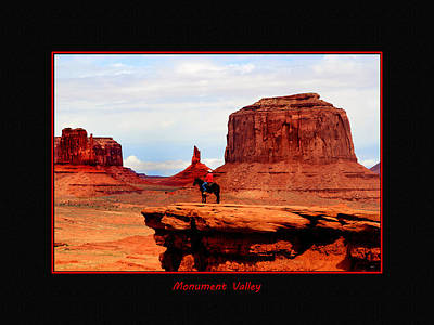 Photograph - Monument Valley II by Tom Prendergast
