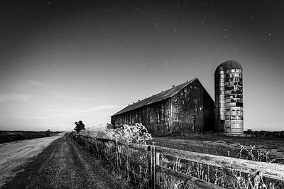 Photograph - Moonlight Farm by Alexey Stiop
