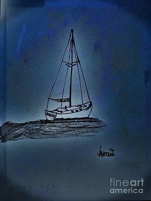 Moonlight Sailing Original