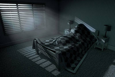 Lazy Digital Art - Moonlight Sleep In by Allan Swart