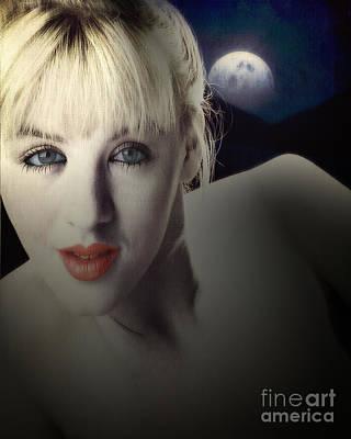 Photograph - Moonlore by Edmund Nagele