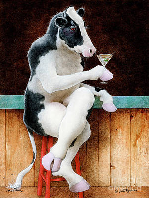 Painting - Mootini... by Will Bullas