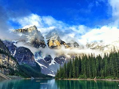 Photograph - Moraine Lake by Jack Nevitt
