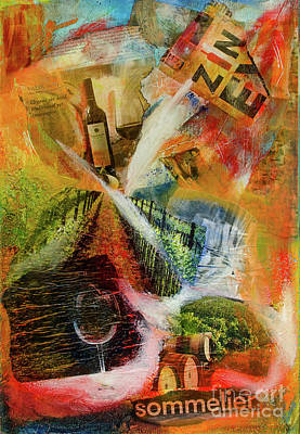 Painting - More Wine by Deb Breton