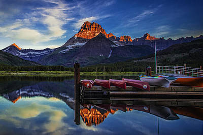 Mountain Royalty-Free and Rights-Managed Images - Morning in the Mountains by Andrew Soundarajan