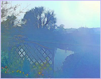 Digital Art - Morning Mist by Mindy Newman