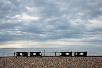 Photograph - Morning View From Kingsdown by Ian Middleton