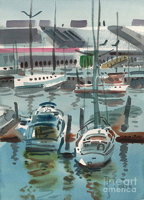 Painting - Moss Landing by Donald Maier