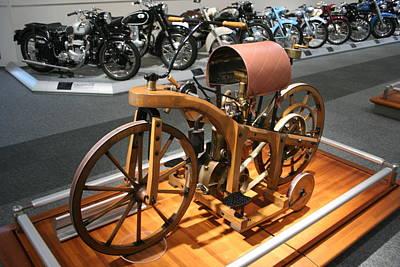 Transportation Digital Art - Motorcycle by Maye Loeser