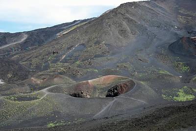 Photograph - Mount Etna by Harvey Barrison