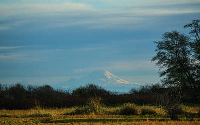 Photograph - Mount Rainier In The Distance by Ronda Broatch
