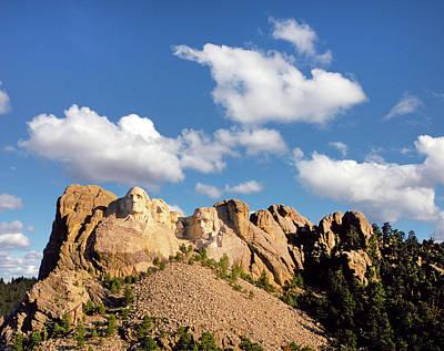 South Dakota Photograph - Mount Rushmore by Buddy Mays