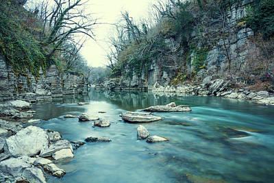 Mountain River Art Print by Svetlana Sewell