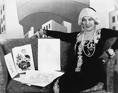 Movie Star Photograph - Movie Star Olga Baclanova by Underwood Archives