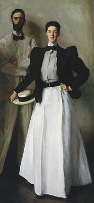Painting - Mr. And Mrs. I. N. Phelps Stokes by John Singer Sargent