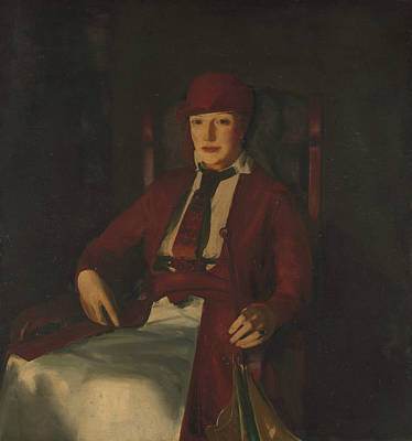 Painting - Mrs. Chester Dale by George Bellows