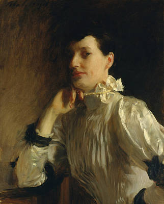 Painting - Mrs. Henry Galbraith Ward by John Singer Sargent