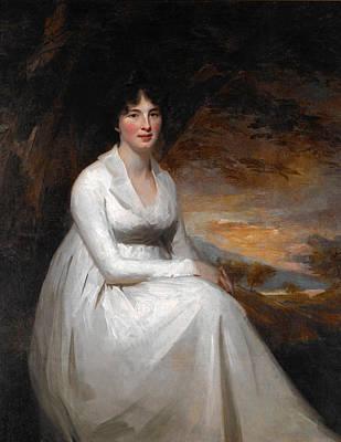 Painting - Mrs Macdowall by Henry Raeburn