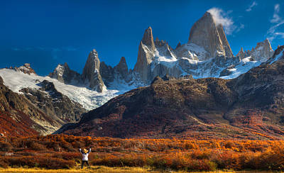 Photograph - Mt. Fitzroy by Walt Sterneman