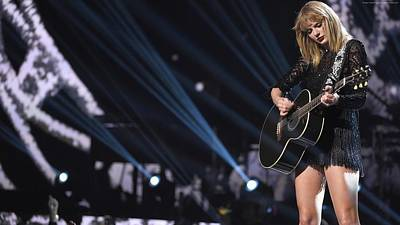 Taylor Swift Digital Art - Mtv Video Music Awards 2017 by Emma Brown