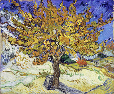 Painting - Mulberry Tree by Vincent van Gogh