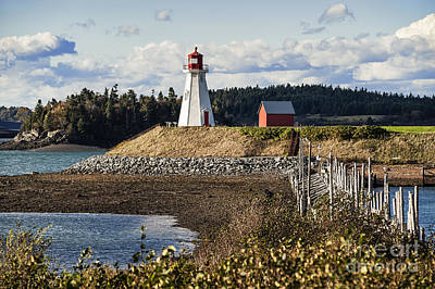 Mulholland Lighthouse Art Print