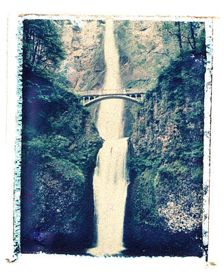 Photograph - Multnoma Falls by Joe  Palermo
