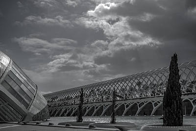 Photograph - Museu De Les Ciencies Principe Felipe by Henri Irizarri