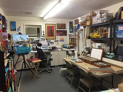 Painting - My Studio by Darice Machel McGuire