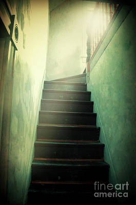Photograph - Mysterious Stairway by Jill Battaglia