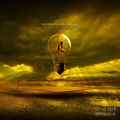Eternity Digital Art - Mystical Light by Franziskus Pfleghart