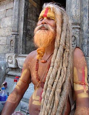 Photograph - Naga Saints In Nepal by Anand Swaroop Manchiraju