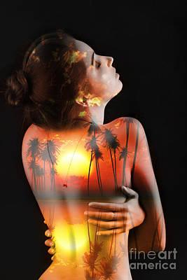 Arouse Photograph - Naked Sensual by Aleksey Tugolukov