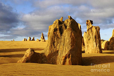 Photograph - Australia Nambung Desert 2 by Bob Christopher