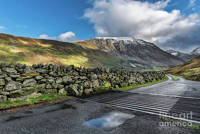 Photograph - Nant Ffrancon Pass by Adrian Evans